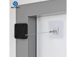 mainimage0BETOCI Automatic Door Closer Multipurpose No Punch Door Sticker Installation 500g 800g Tension Closing Device Furniture