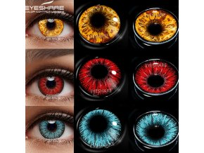 mainimage0EYESHARE Cosplay Color Contact Lenses for Eyes AYY Series Makeup Sharingan Beauty Contact Lenses Eye Cosmetic