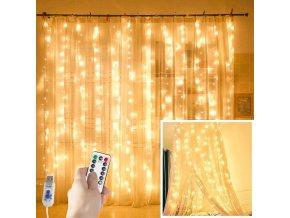 mainimage03MX3M LED Curtain Garland on The Window USB String Lights Fairy Festoon Remote Control New Year