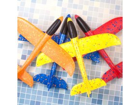 mainimage137CM Glider Plane Airplane EPP Foam Hand Throw Rubber Band Ejection Outdoor Launch Gift Interesting Toys