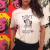 Dámské tričko s potiskem (barva Bílá, Velikost S)