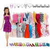 Set oblečků a doplňků pro panenku Barbie