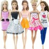 11 variant 5 set 3 set handmade fashion outfit daily casual wear blouse shirt vest bottom pants skirt clothes for barbie doll accessories