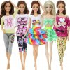 13 variant 5 set 3 set handmade fashion outfit daily casual wear blouse shirt vest bottom pants skirt clothes for barbie doll accessories