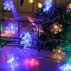 Světelný LED řetěz - hvězdičky