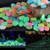 1 main 10pcs luminous garden landscaping ornament fish tank aquarium decoration artificial noctilucent stone light emitting pebble