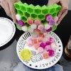 Forma na kostky ledu - včelí plástev