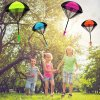 5 main hand throwing mini soldier parachute funny toy kid outdoor game play educational toys fly parachute sport for children toy