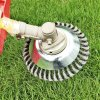 1 main 150mm200mm steel wire trimmer head grass brush cutter dust removal weeding plate for lawnmower drop shipping free shipping
