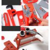 3 main kids toolbox kit educational toys simulation repair tools toys drill plastic game learning engineering puzzle toys gifts for boy