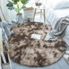 12 variant fluffy round rug carpets for living room decor faux fur rugs kids room long plush rugs for bedroom shaggy area rug modern mats