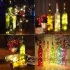 5 main string led wine bottle with cork 20 led bottle lights battery cork for party wedding christmas halloween bar decor warm white