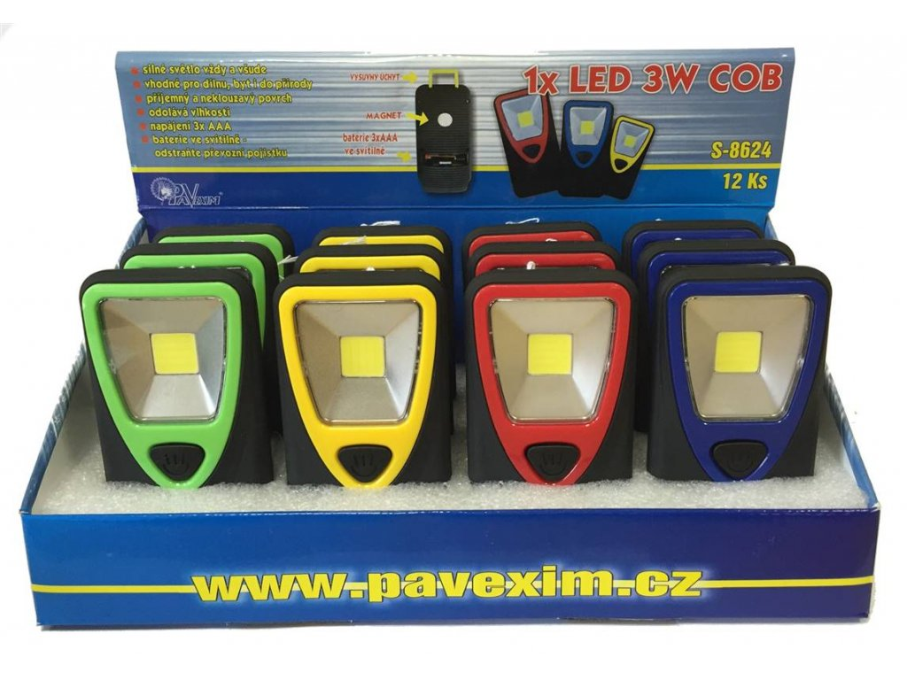 Svítilna Konnoc S-8624 LED COB
