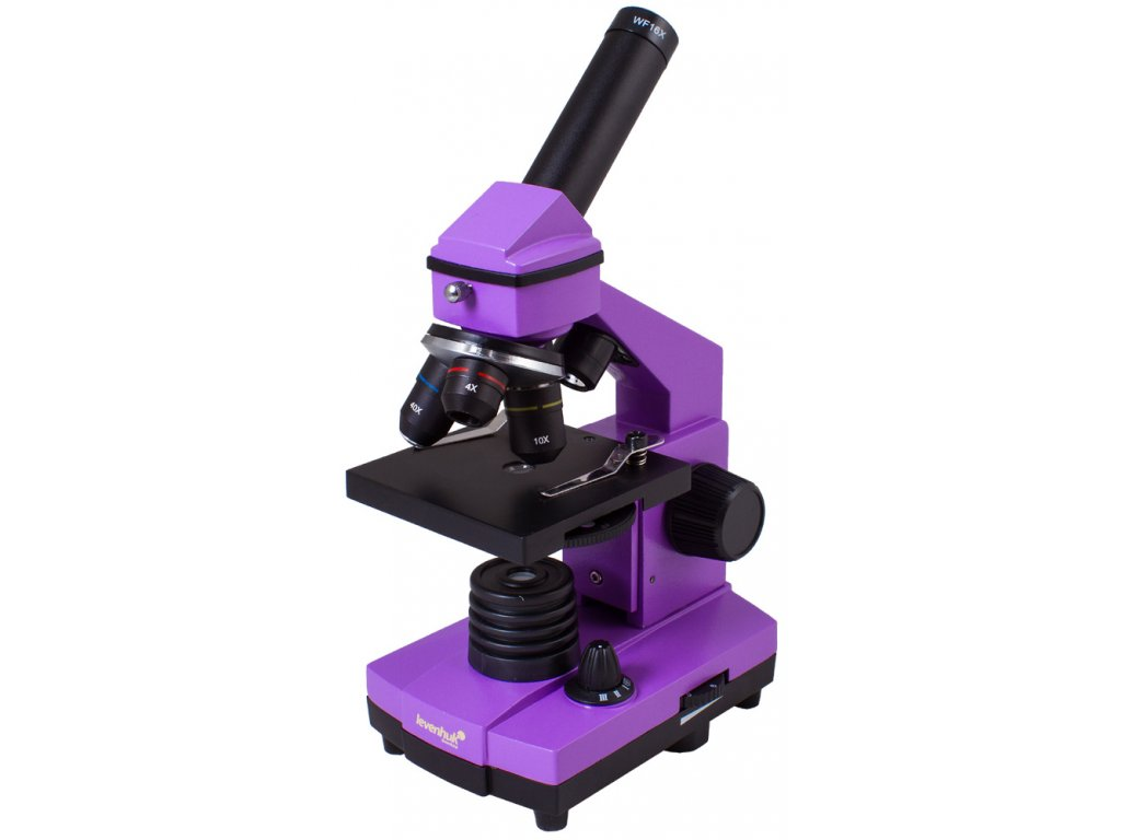 Mikroskop Levenhuk Rainbow 2L PLUS Amethyst