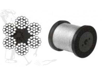 Lano ocelové ZCCZ 3,0 mm