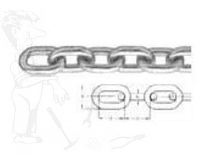 Řetěz A 3008 8x24x10 mm DIN 766