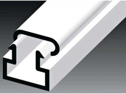 Lišta PVC LV 10x11 1m