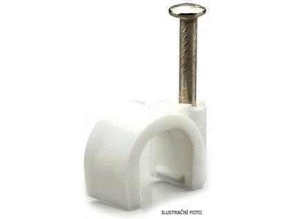 Příchytka kabelová 8mm Scame