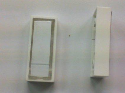 Tlačítko zvonkové boční hmatník bílé ZT1