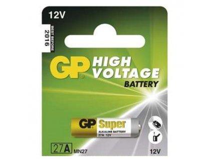 Baterie alkalická GP 27A 12V 1ks