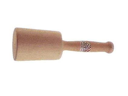 Dřevěná palička pro řezbáře prír.K.75/70 d=120