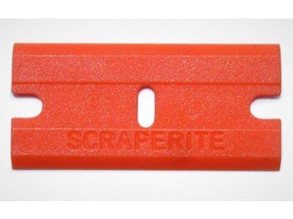 Čepel plastová oranžová 9012