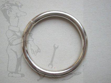 Kroužek svařovaný 6x50 mm ZN