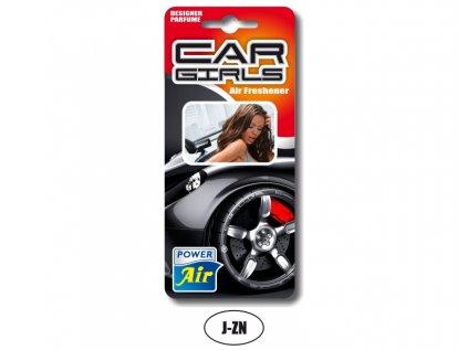 Osvěžovač vzduchu papírový - Car Girls
