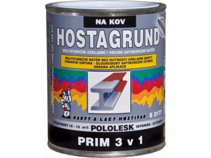 Barva HOSTAGRUND PRIM 3v1/0840 červ.hn 0,6L