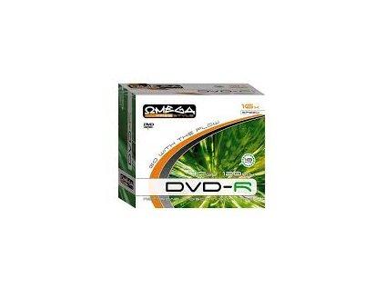 Omega DVD-R 700MB 4,7GB slim box 10ks