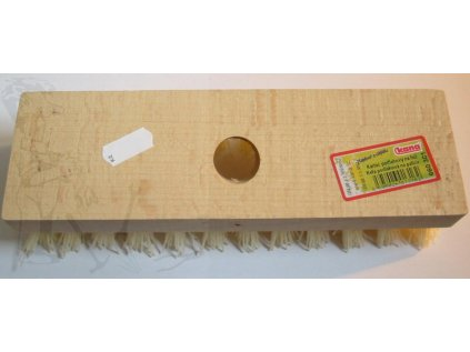 Kartáč rýžový na hůl nasazený