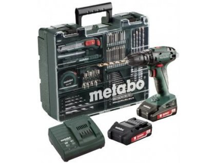 Šroubovák BS 18 Li/2,0 Ah mobil.dílna Metabo