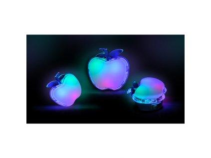 LED noční světélko jablko, 0,5W