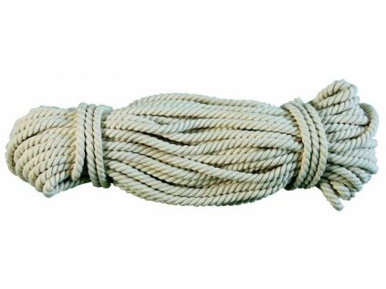 Šňůra prádelní pletená bavlněná 15m