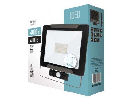 ReflektorLED IDEO s PIR, 50W, neutrální bílá
