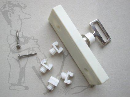 Zámek nábytkový rozvor.na klíč-bez tyčí 701