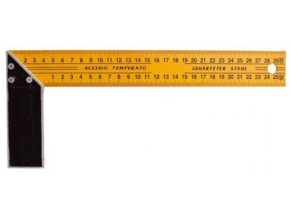Úhelník příložný 400mm žlutý