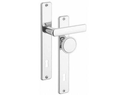 Kování dveřní FAB/90-804 KL-KO Cr - ROSTEX