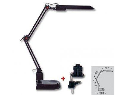 LED lampa 8W, L50164, Ecolite, černá