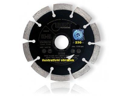 Kotouč diamantový 230mm SE-AL GENT