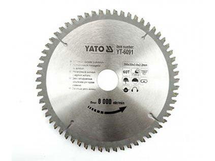 Kotouč pilový na hliník 300 x 30mm 100z YATO