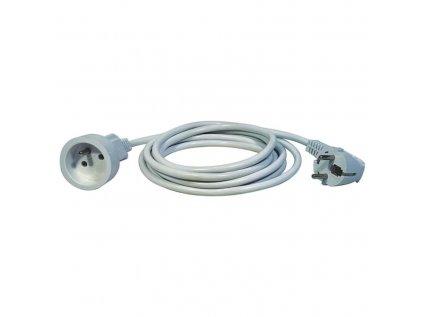 Kabel prodlužovací spojka 1,5m, bílý