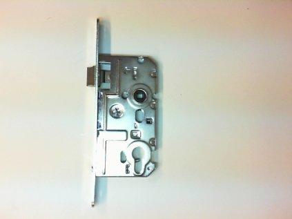 Zámek dveřní vložkový 72/80/55 L ZN HOBES