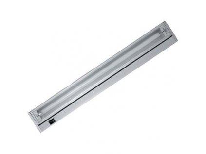 Svítidlo zářivkové 8W výklopné stříbrné