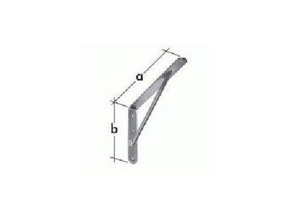 Konzole zpevněná 500x330 - ZN