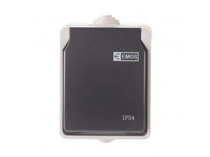 Zásuvka nástěnná 16A/250 IP44