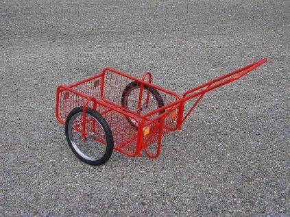 Vozík Pegas drátěná kola