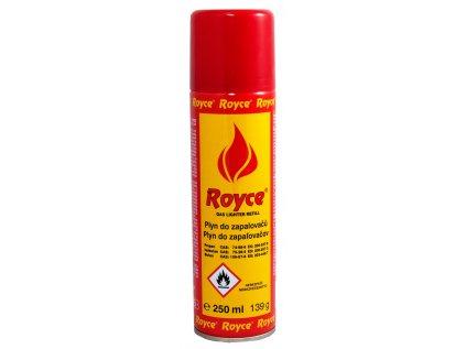 Plyn do zapalovačů Royce GAS 250ml