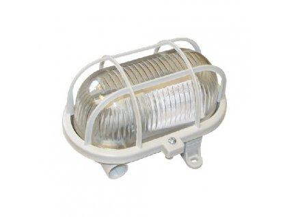 Svítidlo oválné bílé 1x60W želva