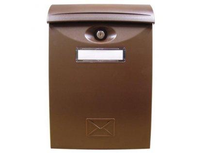 Schránka poštovní ABS 240x340 PH - hnědá